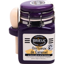 Onctueux de caramel au beurre salé au sel de Guérande BRIEUC, pot coloré 185g