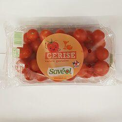 Tomate cerise rouge, SAVEOL, barquette de 500g