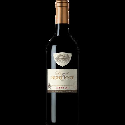 Vin rouge IGP d'Atlantique Merlot Daguet de Berticot, bouteille de 75cl