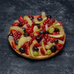 Tarte fruits assortis été prestige, 6 parts, 975g