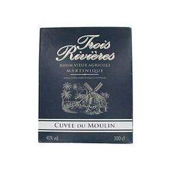 Rhum vieux agricole AOC de Martinique Cuvée du Moulin TROIS RIVIERES, 40°, bib de 3l