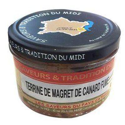 Terrine de Magret de Canard Fumé, Bocal de 190g, SAVEURS & TRADITION DU MIDI