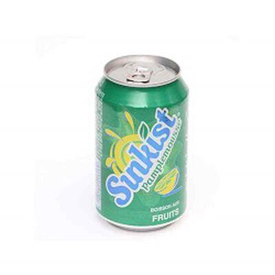 Soda pamplemousse, SUNKIST, le pack de 6x33cl
