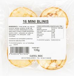 MINIS BLINIS X 16