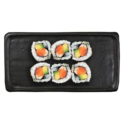 6 california saumon 140g