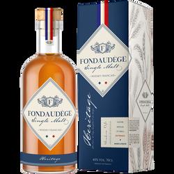 Whisky single malt FONDAUDEGE 40° 70cl