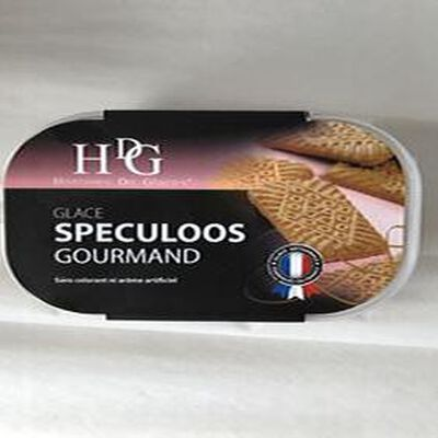 Glace Speculoos GINEYS