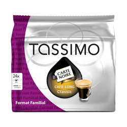 Tassimo café long classic L'OR, x24, 156g