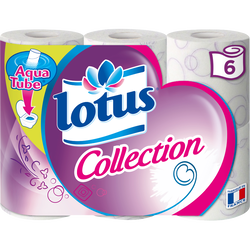 Papier toilette Collection LOTUS, 6 rouleaux