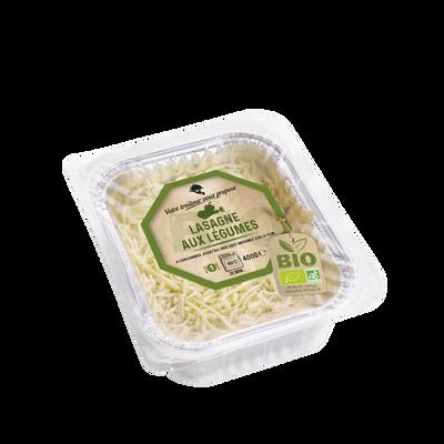 Lasagnes aux légumes BIO, 400g