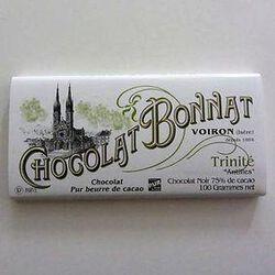 CHOCOLAT NOIR GRAND CRU TRINITÉ 100G - BONNAT CHOCOLATIER