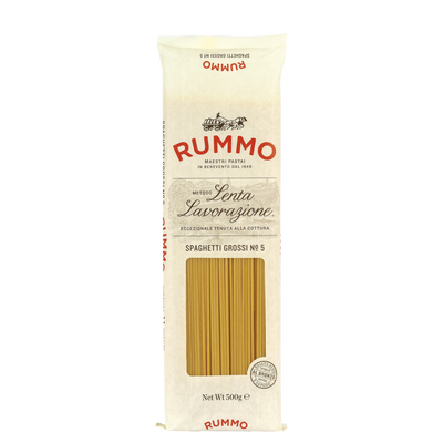 Spaghetti n°5 grossi RUMMO, sachet de 500g