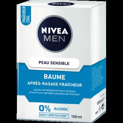 Baume after shave sensitive cool NIVEA Men, flacon de 100ml