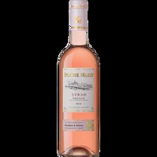 Vin rosé IGP de pays d'Oc Syrah, ROCHE MAZET, bouteille de 75cl, cuvéespéciale,
