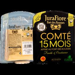 Comté AOP au lait cru affiné 15 mois JURAFLORE, 35%mg, 200g