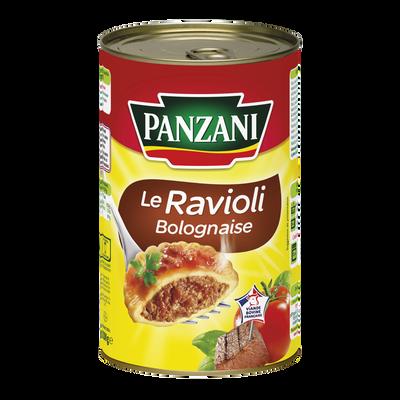 Ravioli sauce bolognaise PANZANI, boîte 3/2 de 1,2kg