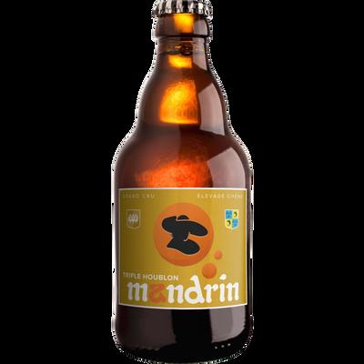 Bière triple houblon MANDRIN 6.5°, bouteille 33cl