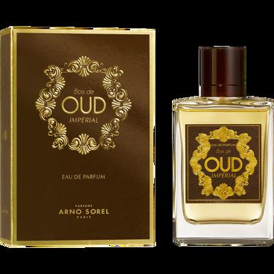 Eau de parfum bois de oud imperial ARNO SOREL, vaporisateur de 100ml