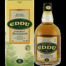 Whisky Eddu Grey Rock Brocéliande, 40°, bouteille de 70cl