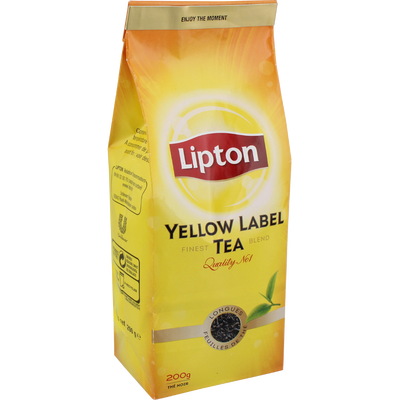 Thé Yellow Label LIPTON, 200g