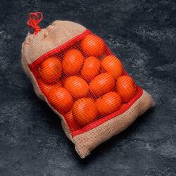Mandarine clemenvilla, calibre 1/2, catégorie 1, Espagne, toile de jute 1,5kg
