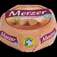 Fromage au lait pasteurisé LE MERZER allégé, 12%MG, 275g