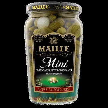 Maille Cornichons Mini Recette Classique Maille, Bocal De 370g