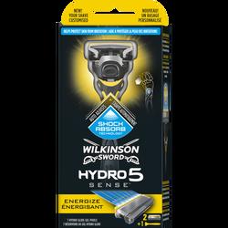 Rasoir hydro 5 sense énergisant WILKINSON, x1