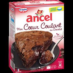Mon coeur coulant au chocolat Dr OETKER ET ANCEL, paquet de 390g