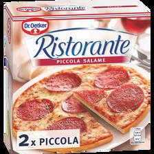 Pizza piccola salame RISTORANTE, 2 pizzas, 280g