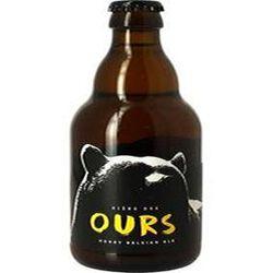 BIERE DES OURS honey Belgian Ale 33cl 8,5 %