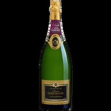 CVT Champagne AOP brut Gaston Dericbourg Cuvée de réserve, magnum de 1,5l