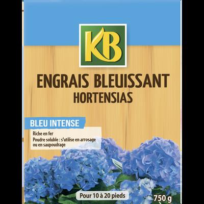 ENGRAIS BLEUISSANT HORTENSIAS KB 750G-EN FORMULE SOLUBLE POUR UNE ASSIMILATION RAPIDE DES ELEMENTS NUTRITIFS-