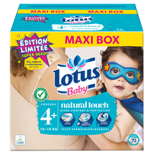 Lotus Couches Taille 4+  Baby, X72