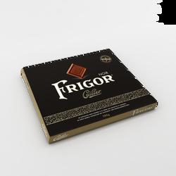 Carrés de chocolat noir fourrés à la crème noisettes et amandes FRIGOR CAILLER x40, 280g