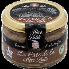 Pâté de campagne recette gourmande à l'ancienne MERE LALIE, 180g