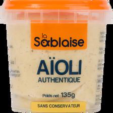 Sauce aïoli comme à la maison LA SABLAISE, 135g