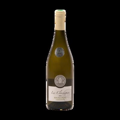 """Vin blanc AOP Bourgogne Chardonnay  """"Les Classiques"""", 75cl"""