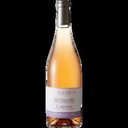 Chinon rosé AOP ELYSIS, 75cl
