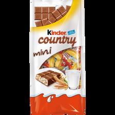 KINDER country mini T20, sachet de 20 pièces, 106g