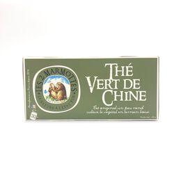 Thé vert de Chine LES 2 MARMOTTES 30 sachets 45g