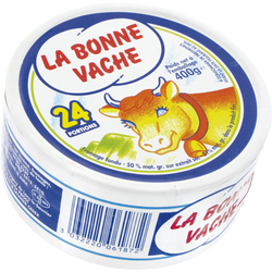 Fromage fondu pasteurisé 20% de MG, boîte ronde, x24