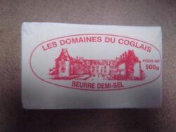 Beurre de Barattes Les  Domaines du Coglais DS 80% 500G