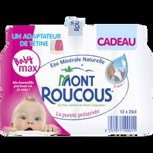 Mont Roucous Eau Minérale Naturelle , 12 Bouteilles De 25cl