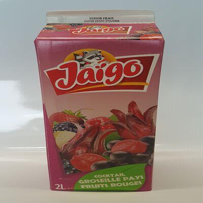 JAIGO COCKTAIL GROSEILLE PAYS