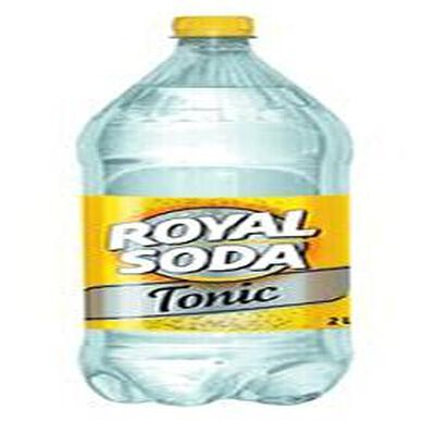 Boisson gazeuse Tonic, ROYAL SODA, bouteille de  2l
