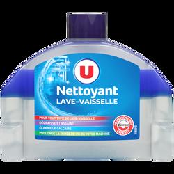 Nettoyant liquide pour lave-vaisselle U, bouteille de 250ml