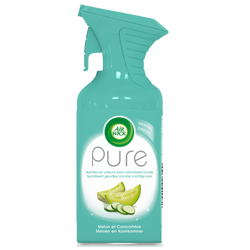 Désodorisant pure concombre et melon AIR WICK, aérosol de 250ml