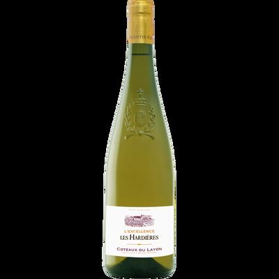 Coteaux du Layon AOC blanc DOMAINE DES HARDIERES, bouteille de 75cl