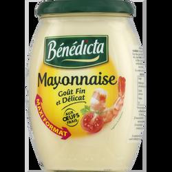 Mayonnaise nature, BENEDICTA, bocal de 770g